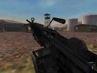 Minimi with ammo