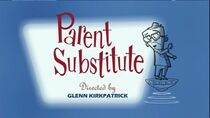 Parent Substitute episode title card