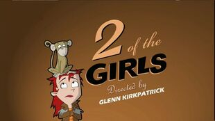2 of the Girls episode title card