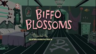 Biffo Blossoms episode title card