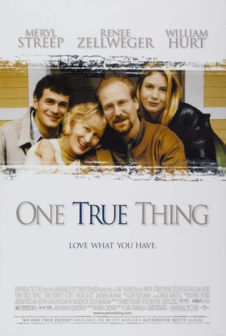File:One True Thing poster.jpg