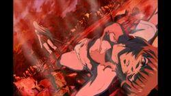 Shiryuu defeats Ryomou