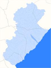 Localització del barranc de Pixavaques