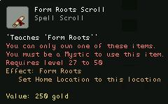 Form Roots Scroll