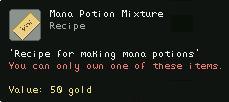 Mana Potion Mixture