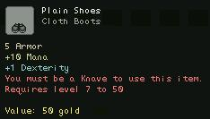 Plain Shoes