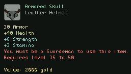 Armored Skull
