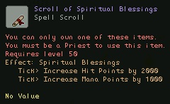 Scroll of Spiritual Blessings