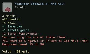 Mushroom Essence of the Cow
