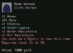 Dusk Shroud