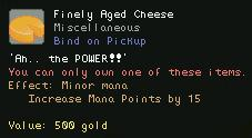 Finely Aged Cheese