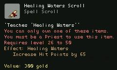 Healing Waters Scroll