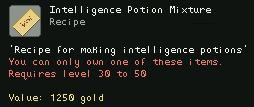 Intelligence Potion Mixture