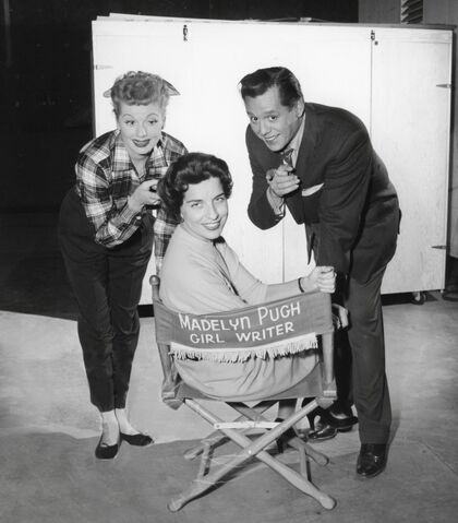 File:Madelyn Davis with Lucy and Desi.jpg