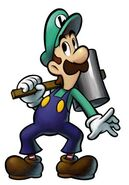 Luigi hammer artwork