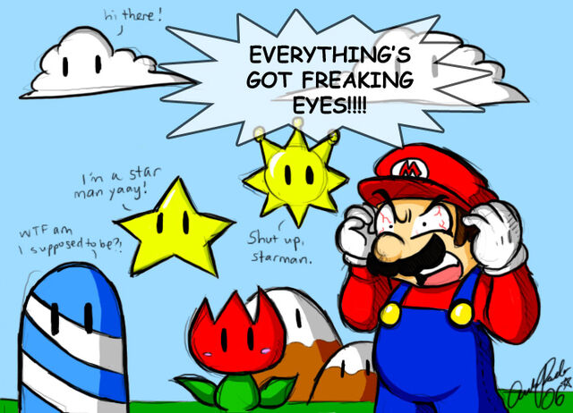 File:Mario THE EYES by ojamajodoremidokkan.jpg