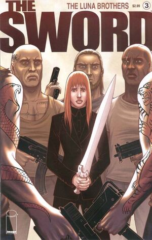 Cover for The Sword #3 (2007)