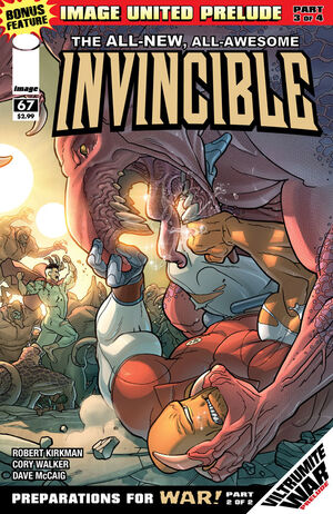 Cover for Invincible #67 (2009)