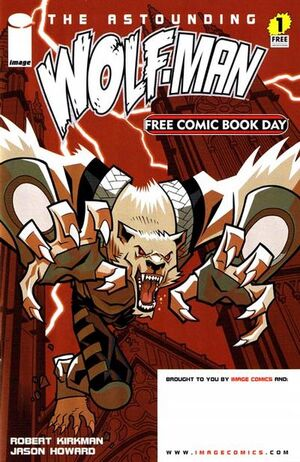 Cover for Astounding Wolf-Man #1 (2007)
