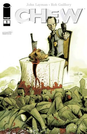 Cover for Chew #1 (2009)