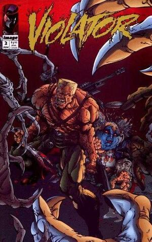 Cover for Violator #2 (1994)