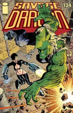 Cover for Savage Dragon #134 (2007)