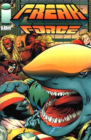 Cover for Freak Force #2 (1994)