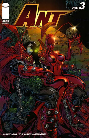 Cover for Ant #1 (2005)
