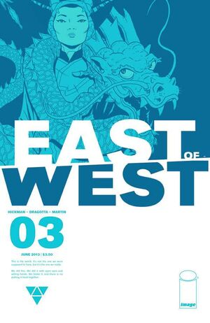 Cover for East of West #3 (2013)