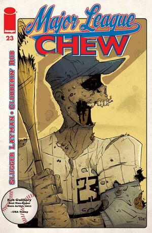 Cover for Chew #23 (2012)