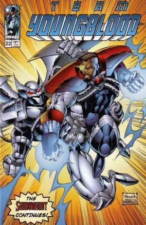 Cover for Team Youngblood #22 (1996)