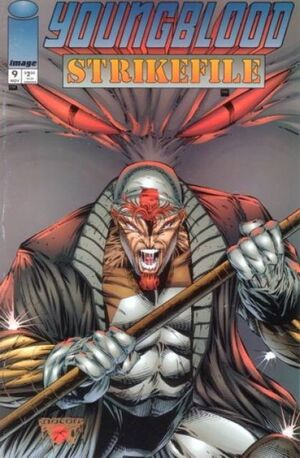 Cover for Youngblood Strikefile #9 (1994)