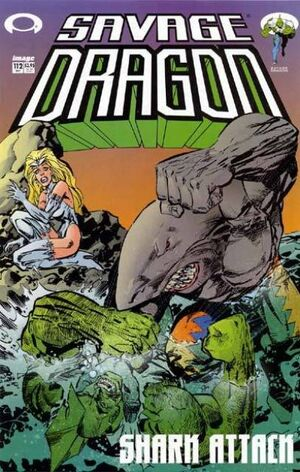 Cover for Savage Dragon #112 (2003)