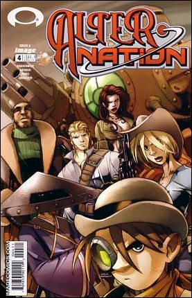 Cover for Alter Nation #4 (2004)