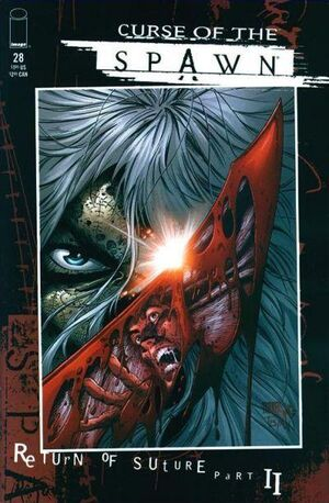 Cover for Curse of the Spawn #28 (1999)