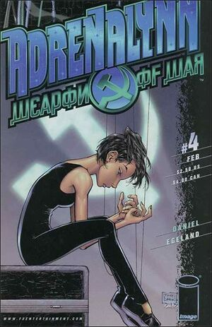 Cover for Adrenalynn Weapon of War (2000)