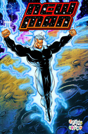Cover for New Man #3 (1996)