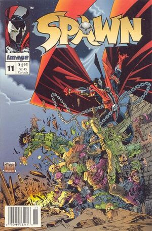 Cover for Spawn #11 (1993)
