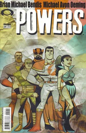 Cover for Powers #29 (2003)