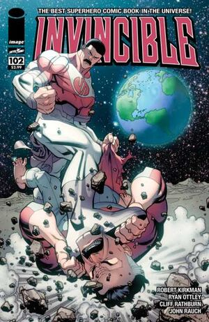 Cover for Invincible #102 (2013)
