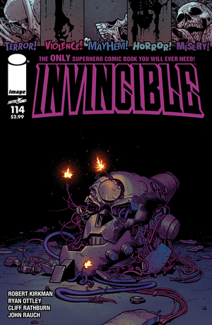 Cover for Invincible #114 (2014)