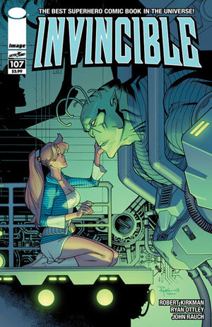 Cover for Invincible #107 (2013)