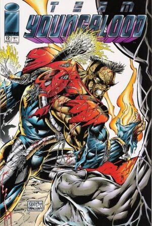 Cover for Team Youngblood #12 (1994)