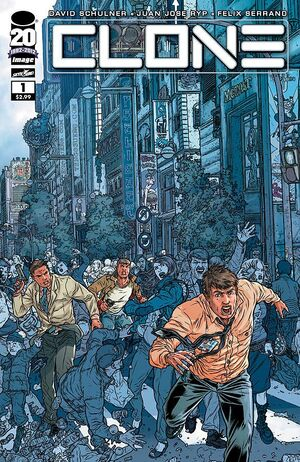Cover for Clone #1 (2012)