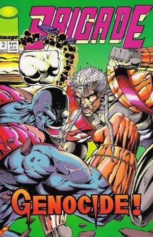 Cover for Brigade #2 (1992)