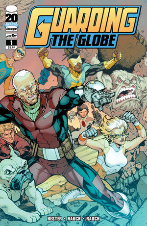 Cover for Guarding the Globe #1 (2012)