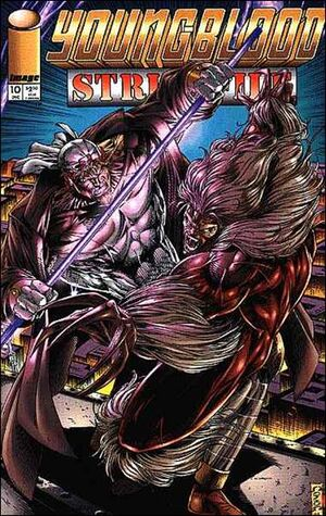 Cover for Youngblood Strikefile #10 (1994)