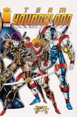 Cover for Team Youngblood (1994)
