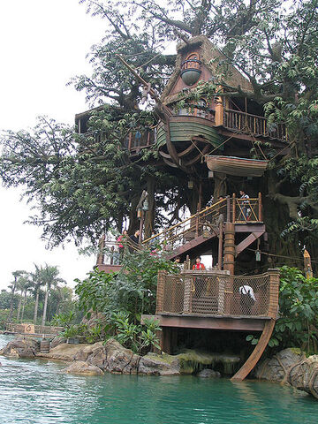 File:450px-HK Disneyland tree house by Dave Q.jpg
