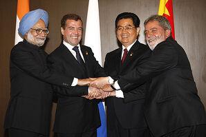 BRIC leaders in 2008